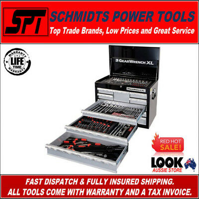 Gearwrench 89913 219 Piece Mechanics Tool Kit With Xl Tool Chest Metric & Sae