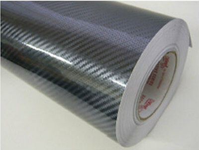 A2 A3 A4 A5 1m ROLL OF CARBON FIBRE SELF ADHESIVE VINYL STICKY BACK PLASTIC