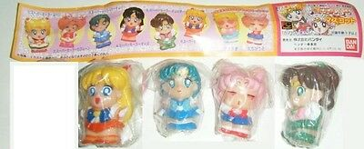 Bandai Sailor Moon Super S Gashapon HG Deformed Figure 4 pcs set