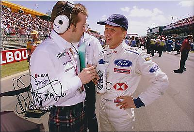 Paul STEWART SIGNED Autograph RACING Driver Photo AFTAL COA Son of Jackie