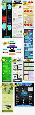 10 Stunning Infographics Covering Some Online Marketing Topics on 1 CD