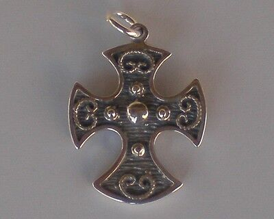Byzantine Silver Cross - High Quality Item - Hand Made in Greece - 925