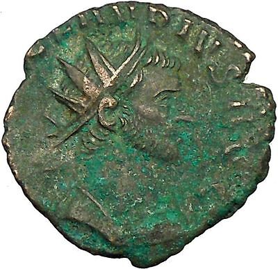 Claudius II Gothicus 268AD Ancient Roman Coin Spes Hope Ultima dea  i35407