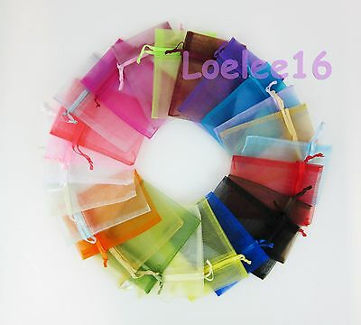 12 PACK ORGANZA GIFT BAG - Jewelry Pouch Wedding Favor Party Bridal Candy