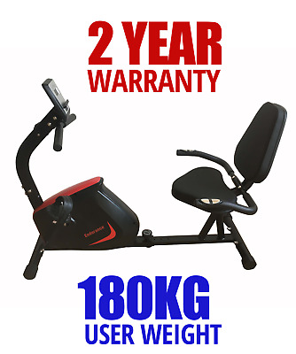 FREE POSTAGE New Recumbent Exercise Bike HEAVY DUTY Home Gym Fitness