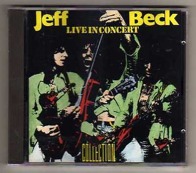 JEFF BECK - LIVE in CONCERT COLLECTION - CD LIVE  - NO CDr RARO SEALED MINT