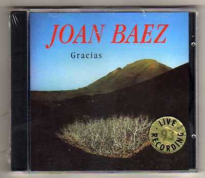 JOAN BAEZ - GRACIAS - CD LIVE  '93  NO CDr RARO SEALED MINT