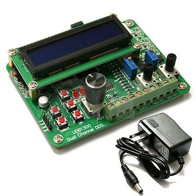 8MHz Dual TTL DDS Source Signal Generator 60MHz Sweep Frequency Counter
