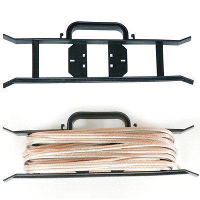 Cable Wire Reel Tidy Carrier Holder - Electrical - Caravan & Camping H-Frame