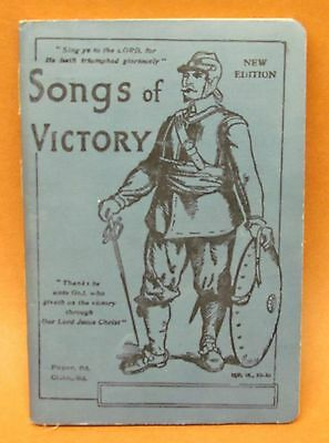 1912 Songs Of Victory  Hyme Book cloth cover Near Mint