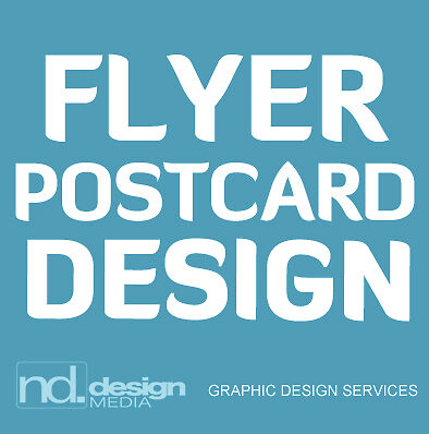 Flyer or Postcard Design - Affordable and Professional Graphic Design Services