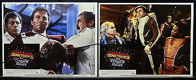 Star Trek II Wrath of Khan 1982  Movie Orig Lobby Card set of 8 William Shatner
