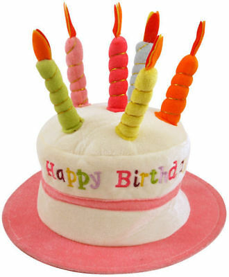 Novelty Birthday Hat Candles Gift Present Idea Funny 21St 30Th 40Th 50Th A1028P