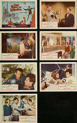 That Man in Istanbul 1966 Original Lobby Cards Adventure