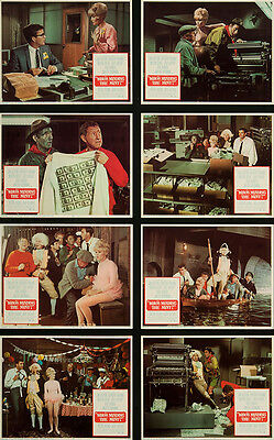 Who's Minding the Mint? 1967 Original Lobby Cards Comedy Romance