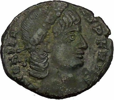 Constans Gay Emperor Constantine the Great son Roman Coin Glory of Army i35521