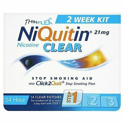 Niquitin CQ Patches 21mg Clear - 14 step 1