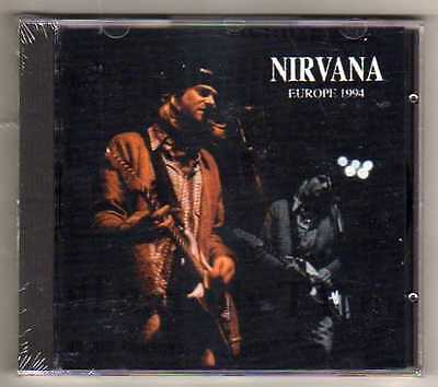 NIRVANA - EUROPE 1994 - CD LIVE EU 1994-  NO CDr RARO SEALED MINT