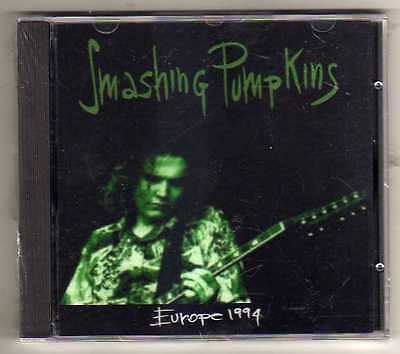 SMANSHING PUMPKINS - EUROPE 1994 - CD LIVE EU 1994-  NO CDr RARO SEALED MINT
