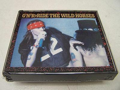 GUNS N' ROSES - RIDE THE WILD HORSES - 3 CD LIVE UK 1992 NO CDr RARO SEALED MINT