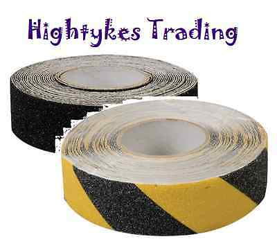ANTI SLIP TAPE HIGH GRIP ADHESIVE BACKED NON SLIP TAPE 24mm & 50mm