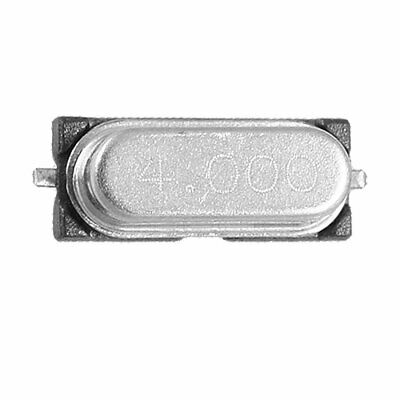 4.000 MHz Frequency 49SMD Crystal Oscillator 50 Pcs
