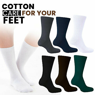 3 Pairs of School Ankle Socks for Boys and Girls Available Many Range Of Colours