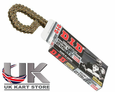 DID SDH 219 Pitch HTZ G&G Chain 112 Links Go Kart Karting Race Racing