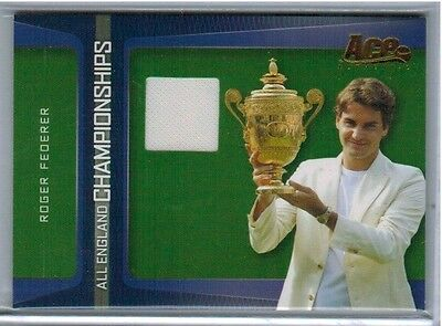 2007 Ace Authentic Roger Federer All England Championships Jersey Shirt - QTY