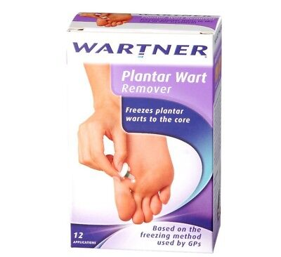 Wartner ® Plantar Wart Remover 50ml, 12 applications