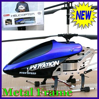 RC BIG Helicopter 3.5CH GYRO Remote Control 68cm Huge Large Coaxial 3.5 3 Xmas R