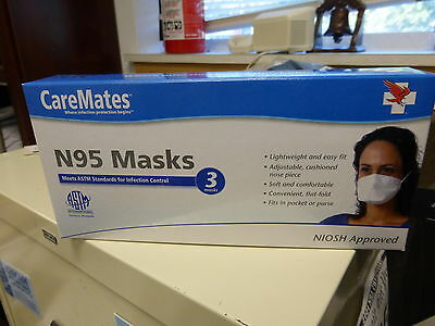 Care Mates N95 Mask Package Of 3