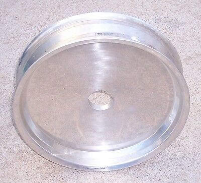 16 Inch Solid Aluminum Mag Wheel Blank ~ Hot Rod Gasser Rat Rod Drag Race
