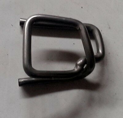 "Self Locking Buckle Clip 3/4"" 25 pack"