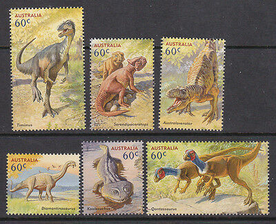 2013 Australia's Age Of Dinosaurs - MUH Complete Set of 6