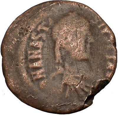 Anastasius I 491AD HUGE Ancient Authentic  Medieval Byzantine Coin  i35672