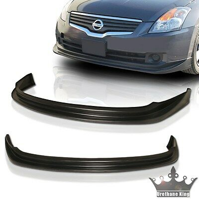 07-09 NISSAN ALTIMA FRONT BUMPER LIP SPOILER URETHANE PU JDM N1 NS VIP