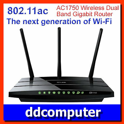 TP-Link AC1750 Dual Band 802.11ac Wireless Gigabit Router 5G 2.4GHz Archer C7