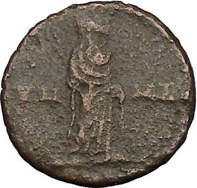 CONSTANTINE I the GREAT 347AD  Ancient Roman Coin Christian Deification  i35704