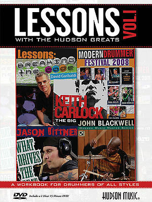 Lessons with the Hudson Greats Vol 1 Bk&DVD