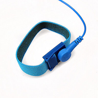 New 1.8m Anti Static ESD Adjustable Wrist Strap Discharge Band Grounding