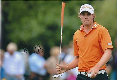 Peter UIHLEIN SIGNED 12x8 Photo AFTAL Autograph COA Golf St ANDREWS Scotland