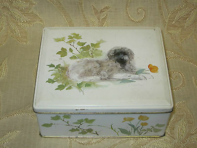 Vintage Collectable Container Tin Box - 1980's