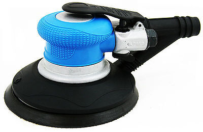 "6"" Air Random Orbital Palm Sander Body shop Sanding Automotive Tool self vaccum"