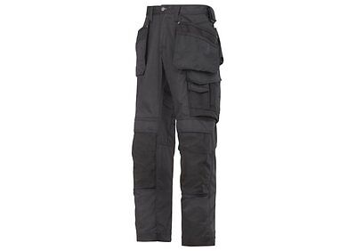 Snickers 3211 Work Trousers(Holster Pockets) Black. Brand New With Tags