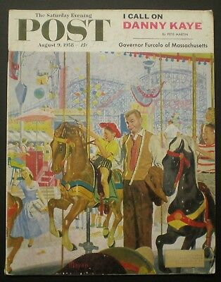 The Saturday Evening Post, August 9, 1958 - London, Mecca For Antique Hunters