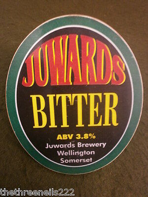 Beer Pump Clip - Juwards Bitter - With Fittings