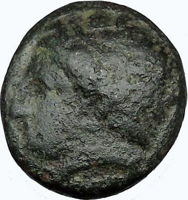 Philip II Alexander the Great Dad OLYMPIC GAMES Greek Coin APOLLO Horse  i35834