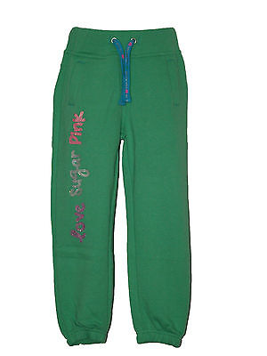 "Girl's ""Sugar Pink"" Jogging Bottoms Pants Trousers 3-4 4-5 5-6 6-7 7-8 9-10Yrs"