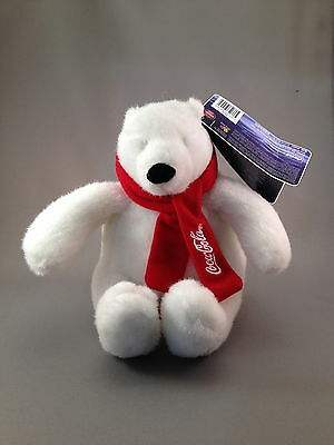 New Plush Coca Cola Polar Bear Coke 2007